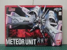 1/400 METEOR UNIT W/ 3 Mini gundam (Freedom Gundam, Justice Gundam, Providence Gundam) -VERY RARE -IDR 600.000