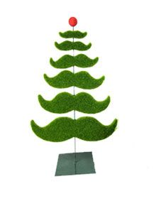 Moustache Christmas tree - Small