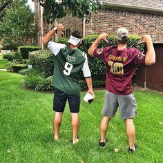 Dream jerseys: Bryce Petty and RGIII #SicEm