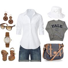 Preppy Casual, created by pat-prentice