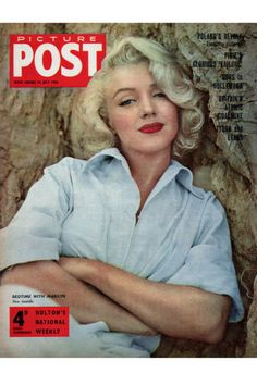 Marilyn Monroe's perfect red pout