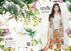 Iznik Summer Embroidered Unstitched Lawn Collection 2017 http://www.fashioncluba.com/2017/04/iznik-summer-embroidered-unstitched-lawn-collection.html