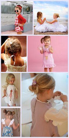 French braid in toddler hair