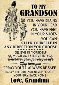 Grandson Quotes, Grandkids Quotes, Quotes About Grandchildren, Daughter Quotes, Mother Quotes, Mom Quotes, Sign Quotes, Quotable Quotes, Family Quotes