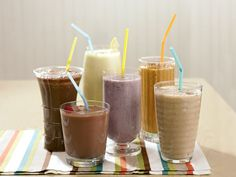10 Slimming Smoothie Recipes FYI, I cannot have flax oil. I sub almond, rice, or coconut milk.