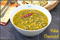 Palak Channadal Curry | Spinach Bengal Gram Curry