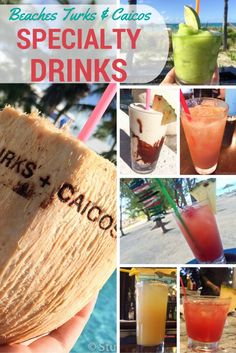 Taking a vacation to Beaches Turks & Caicos? Don't miss the chance to discover and drink some of these fun specialty drinks that are hidden around the restaurants at Beaches resort!
