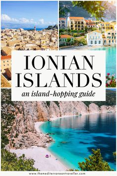 The Ionians are an island group located off the west coast of the Greek mainland, famous for their lush green landscapes, epic beaches, Venetian towns, and popular resorts. However they are not always easy to combine in an itinerary. Here's quick overview of each island plus how to travel around them. #greece #greekislands #europe #travel #islands #beaches #vacation #mediterranean #tmtb Greece Itinerary, Greece Travel, Top Travel Destinations, Greece Destinations, Travel Pics, Lush Green, Greek Islands, Summer Travel, European Travel