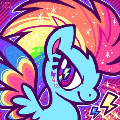 My Little Pony- Rainbow Dash