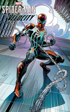 Spider-Man: Velocity variant cover by Mark Bagley * – Marvel Comics Marvel Comic Universe, Comics Universe, Marvel Art, Marvel Dc Comics, Marvel Heroes, Marvel Characters, Ms Marvel, Captain Marvel, Spiderman Art