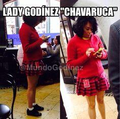 Otra perspectiva de esta #LadyGodínez 'Chavaruca'