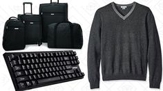 Today's Best Deals: Mechanical Keyboards Affordable Luggage Cashmere and More