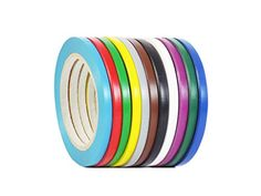 WOD CVT-536 Rainbow Pack Vinyl Pinstriping Dance Floor Tape, Safety Marking Floor Splicing Tape (Also Available in Multiple Sizes & Colors): 1/4 in. wide x 36 yds. (Pack of 12) #Rainbow #Pack #Vinyl #Pinstriping #Dance #Floor #Tape, #Safety #Marking #Splicing #Tape #(Also #Available #Multiple #Sizes #Colors): #wide #yds. #(Pack
