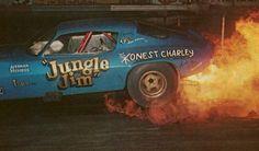 History - Drag cars in motion. Funny Car Drag Racing, Nhra Drag Racing, Funny Cars, Jungle Jim Liberman, Pam Hardy, Lightning Aircraft, 70 Camaro, Jungle Jim's, Show Trucks