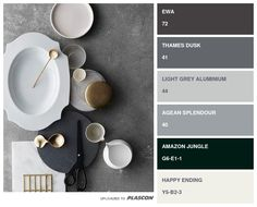 Featuring the latest colours in interior and exterior paint, plus inspiring design ideas and trends, our paints can help you change your space quickly Interior Paint, Interior And Exterior, Interior Decorating, Paint Swatches, Color Swatches, Plascon Paint Colours, Color Combinations, Color Schemes, Wall Colours