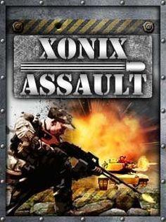 Juego JAR xonix assault 176x220 para celular