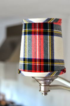 tartan plaid Williams-sonoma home Mode Tartan, Tartan Plaid, Tartan Christmas, Christmas Home, Christmas Decor, Christmas Holidays, Wooden Lampshade, Lampshades, Cool Ideas