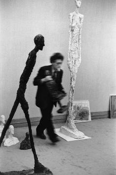 Henri Cartier-Bresson et Alberto Giacometti - Fondation Henri Cartier-Bresson