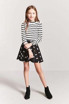 Girls Stripe Sweater Top (Kids)