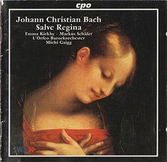 J.C. Bach - Emma Kirkby - Salve Regina