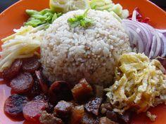 อาหารไทย: ข้าวคลุกกะปิ