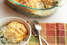 Broccoli Cobbler