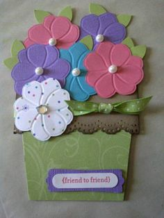 Second Flower Pot Card