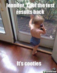 It's cooties.
