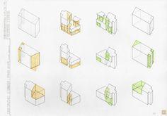 Casa Curutchet Le Corbusier, Concept Draw, Diagram, House, Architecture, Instagram, Drawings, Architectural Sketches, Concept