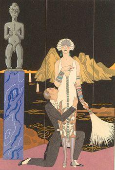 Georges Barbier 1882-1932 | Fashion Déco illustrator