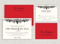 Vineyard Wedding Suite www.saraheilwagen.com #winery #vineyard #weddinginvitation #wedding #invitation