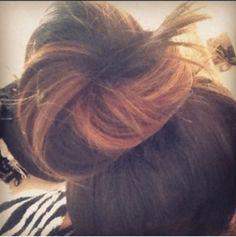 Caramel swirl! Hair color