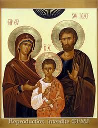 """""""sainte famille"""" Christian Religions, Biblical Art, Religious Icons, Holy Family, Orthodox Icons, Blessed Mother, Sacred Art, Christian Art, Betty Boop"""