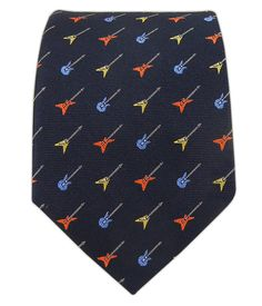 - Unplugged - Navy (Skinny) Tie  Novelty ties aren't usually my thing; herein lies the exception.