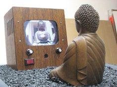 Nam June Paik Buddha