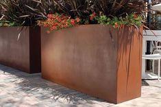 Gratia Tall Trough Planter #contemporaryoutdoorplanter