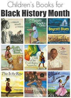 Children's Books for Black History Month | The Jenny Evolution