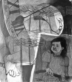 Marty 1981 / charcoal Pablo Temes