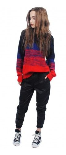 LNA Stripe Sweater