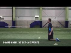 5-Yard Kneeling Get-Up Sprints - Quicker First Step | Nike Hockey Training    http://youtu.be/QHxTJgF-yRo