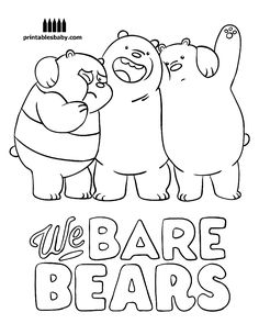 we bare bears coloring pages 9 Best joshua bday images | Bear coloring pages, We bare bears  we bare bears coloring pages