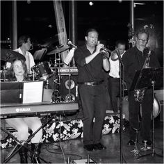 The Mike Field Jazz Quintet at Typhoon in #SantaMonica last night.  Chuck Manning on sax, Gabe Davis on bass, Sabine on piano, Tony Jones on drums, Mike Field on trumpet. #jazz #typhoon