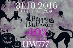 halloween rabatt bei naturteil Happy Halloween, Home Decor, Gift Cards, Nature, Decoration Home, Room Decor, Interior Decorating