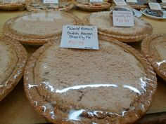 Shoofly Pie at Dutch Haven! Yum!