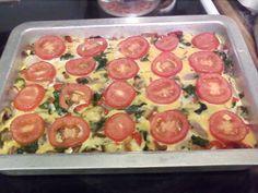 Roasted Vegetable Breakfast Strata