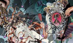 "Radiographics – Yoshi Tajima (Tokyo, Japan) Creator Studio Vol 9 ""Hours"" issue"