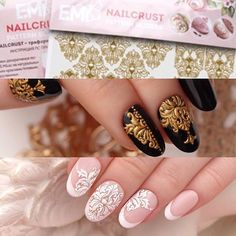 @pelikh_ #EmiManicure #EmiLac #EMi #EmiDesign Simple Nail Designs, Nail Art Designs, Nail Arts, 3d Nail Art, Hair And Nails, My Nails, Sculpted Gel Nails, Bridal Nail Art, School Nails