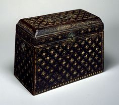 """""""Sutra Box  Goryeo dynasty  13th century""""  From the Tokyo National Museum."""