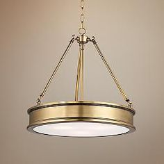 Harbour Point Liberty Gold 19-Inch-W Pendant Light