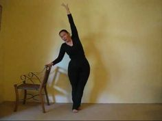 Callanetics Exercise - Waist Whittler.  My favorite. I've done it without the chair and feet a bit apart (no crossing over). Callanetics is my go-to beachbody challenge. This month I've lost 3,5 cm:s from my waist with quick callanetics -  in just 5 days!